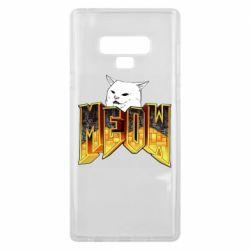 Чехол для Samsung Note 9 Doom меов cat