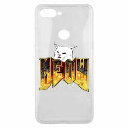 Чехол для Xiaomi Mi8 Lite Doom меов cat