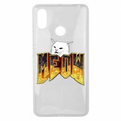 Чехол для Xiaomi Mi Max 3 Doom меов cat