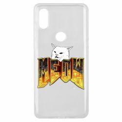 Чехол для Xiaomi Mi Mix 3 Doom меов cat