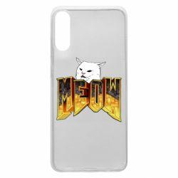 Чехол для Samsung A70 Doom меов cat