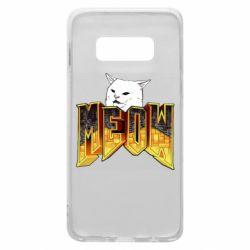 Чехол для Samsung S10e Doom меов cat