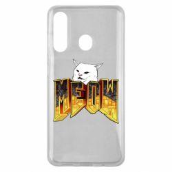 Чехол для Samsung M40 Doom меов cat