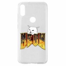 Чехол для Xiaomi Mi Play Doom меов cat