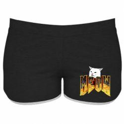 Жіночі шорти Doom меов cat