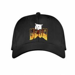 Дитяча кепка Doom меов cat