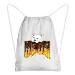 Рюкзак-мішок Doom меов cat