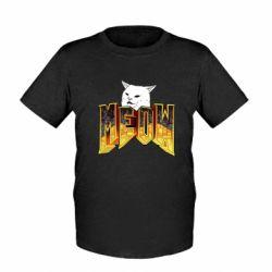 Дитяча футболка Doom меов cat