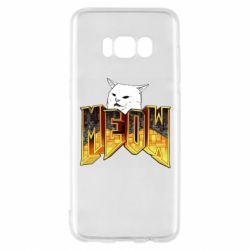 Чехол для Samsung S8 Doom меов cat