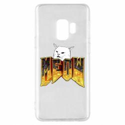 Чехол для Samsung S9 Doom меов cat