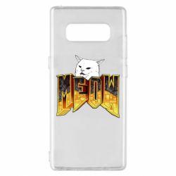 Чехол для Samsung Note 8 Doom меов cat