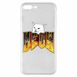 Чохол для iPhone 8 Plus Doom меов cat