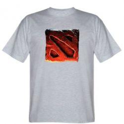 Мужская футболка Dota 2 3d Logo