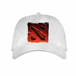 Детская кепка Dota 2 3d Logo - FatLine