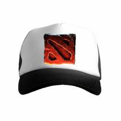Детская кепка-тракер Dota 2 3d Logo