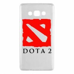 Чехол для Samsung A7 2015 Dota 2 Big Logo