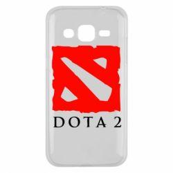 Чехол для Samsung J2 2015 Dota 2 Big Logo