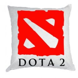Подушка Dota 2 Big Logo - FatLine