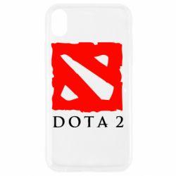 Чехол для iPhone XR Dota 2 Big Logo