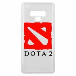 Чехол для Samsung Note 9 Dota 2 Big Logo