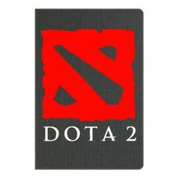Блокнот А5 Dota 2 Big Logo
