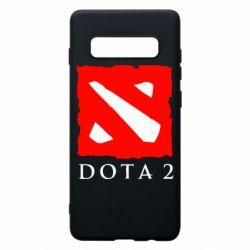 Чехол для Samsung S10+ Dota 2 Big Logo