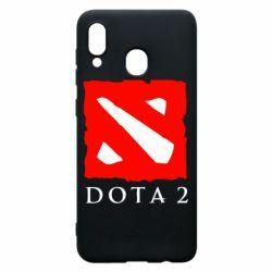 Чехол для Samsung A30 Dota 2 Big Logo