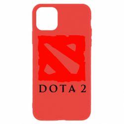 Чехол для iPhone 11 Dota 2 Big Logo