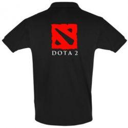 Мужская футболка поло Dota 2 Big Logo