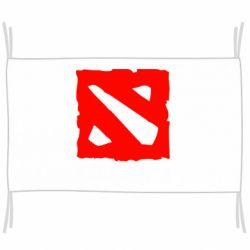 Флаг Dota 2 Big Logo