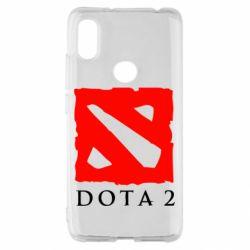 Чехол для Xiaomi Redmi S2 Dota 2 Big Logo