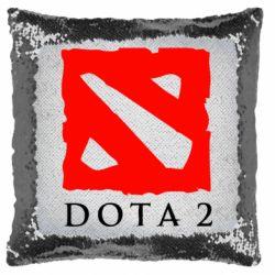 Подушка-хамелеон Dota 2 Big Logo
