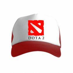 Детская кепка-тракер Dota 2 Big Logo
