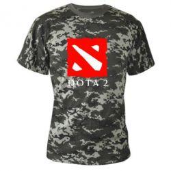 Камуфляжная футболка Dota 2 Big Logo - FatLine