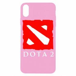 Чехол для iPhone X/Xs Dota 2 Big Logo