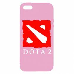 Чехол для iPhone5/5S/SE Dota 2 Big Logo