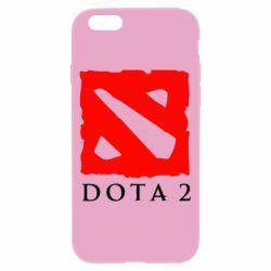 Чехол для iPhone 6/6S Dota 2 Big Logo