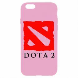 Чехол для iPhone 6 Plus/6S Plus Dota 2 Big Logo