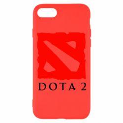 Чехол для iPhone 7 Dota 2 Big Logo