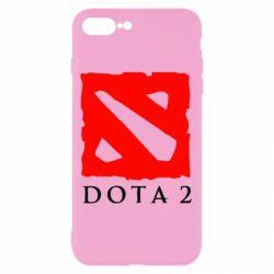 Чехол для iPhone 7 Plus Dota 2 Big Logo