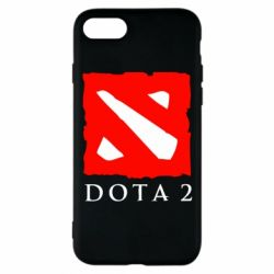 Чехол для iPhone 8 Dota 2 Big Logo