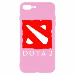 Чехол для iPhone 8 Plus Dota 2 Big Logo