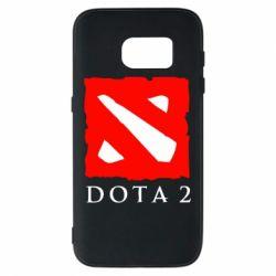 Чехол для Samsung S7 Dota 2 Big Logo