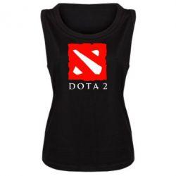 Женская майка Dota 2 Big Logo - FatLine