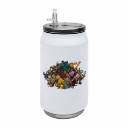 "Термобанка 350ml Dota 2 ""Everybody here"""
