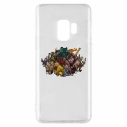 "Чехол для Samsung S9 Dota 2 ""Everybody here"""