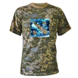 Камуфляжная футболка Dota 2 Fan Art (Logo) - FatLine