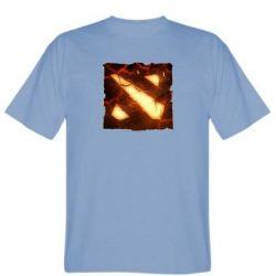 Мужская футболка Dota 2 Fire Logo - FatLine