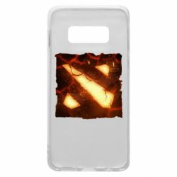 Чехол для Samsung S10e Dota 2 Fire Logo