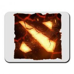 Коврик для мыши Dota 2 Fire Logo - FatLine
